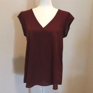 Daniel rainn• blouse•wine color•Medium•EUC